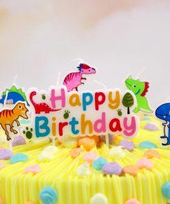 bougie anniversaire dinosaure