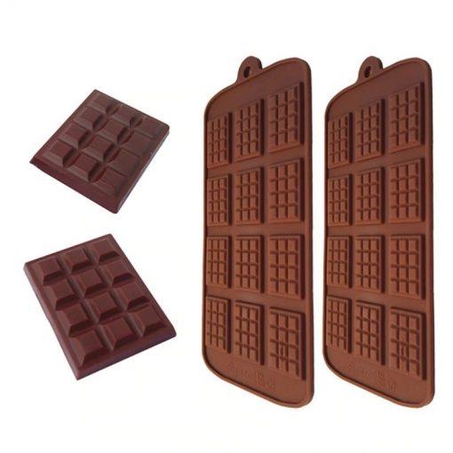 moule a gaufrette et chocolat