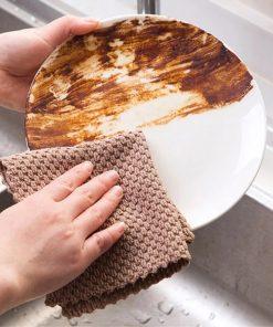chiffon microfibre graisse